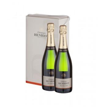 4 Henriot Brut due bottiglie